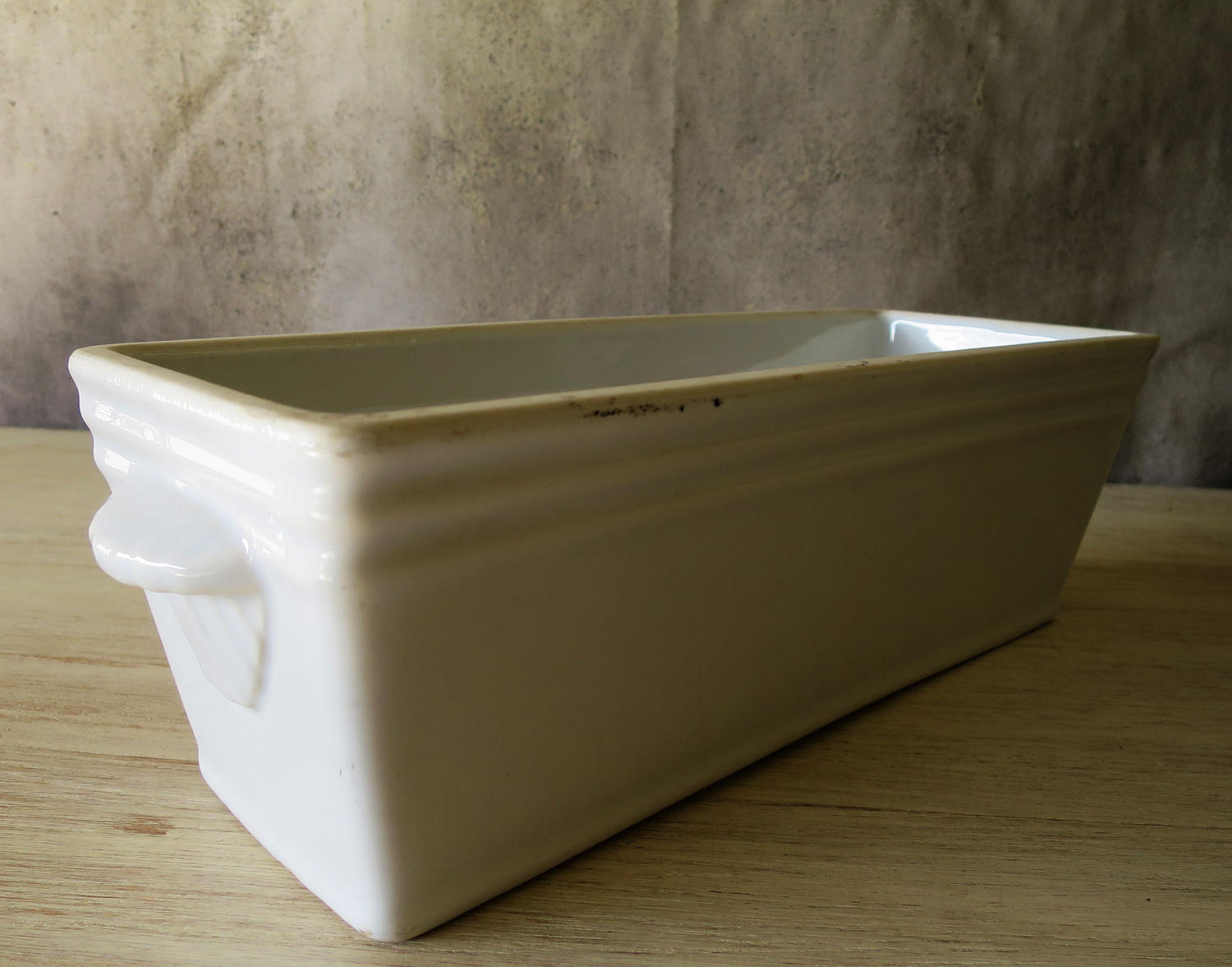 French heavy porcelain Pate Tureen circa 1920
