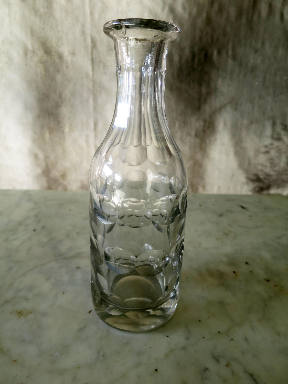 Small 19th century Cut Glass Carafe