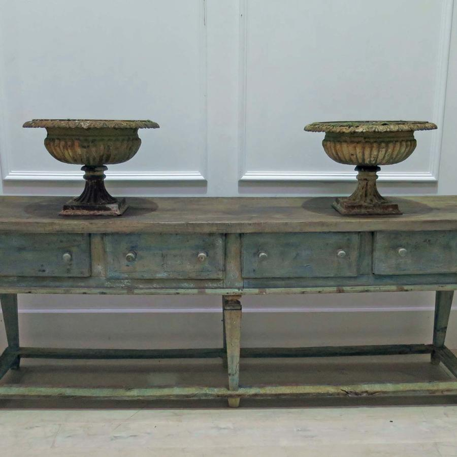 18th century Italian Servery Table with drawers