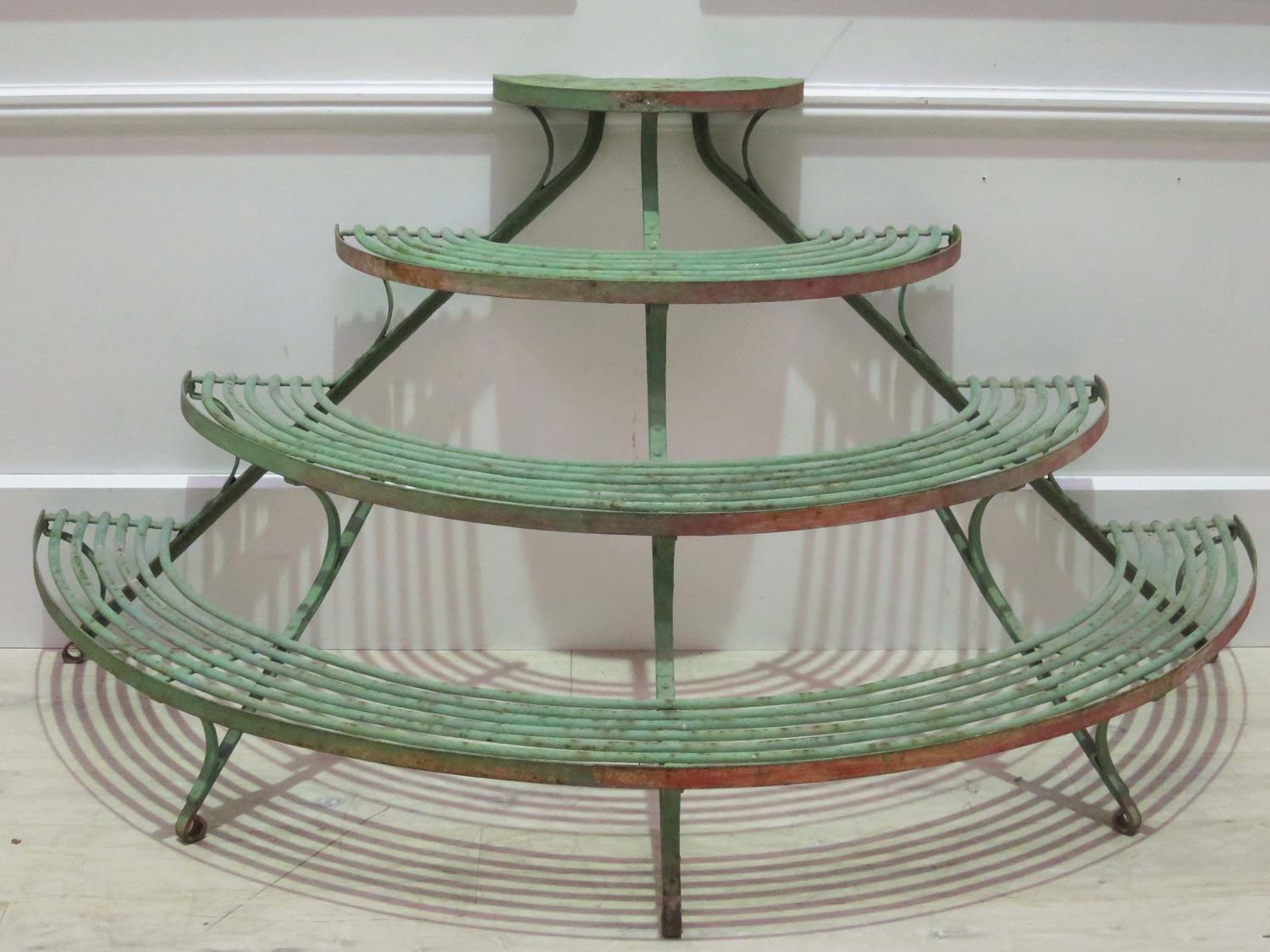 19th c French 'Arras' Tiered Plant Stand