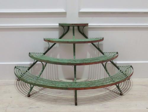 19th C French Arras Tiered Plant Stand