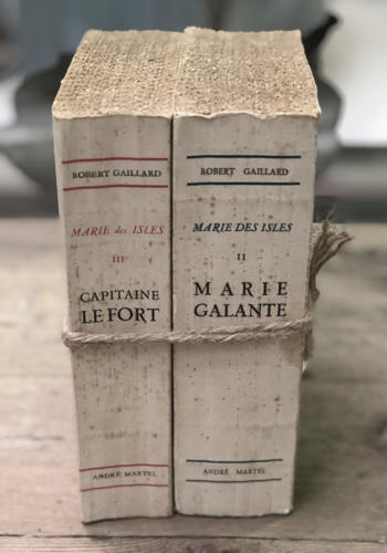 Pair of 20th century French Books - printed 1950