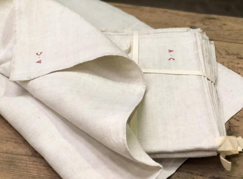 Set of 6 Large Linen T-Towels
