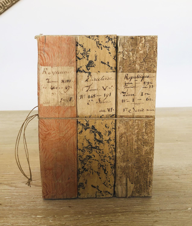 3 French Decorative Books