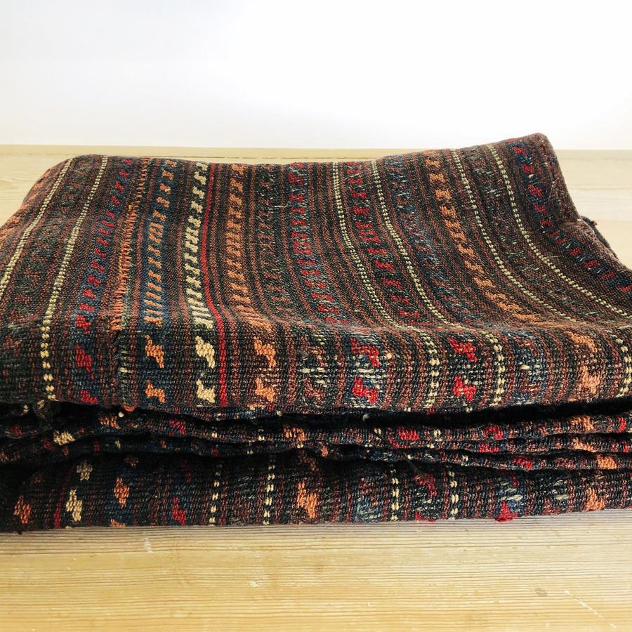 19th century Persian woven Jajim - circa 1890