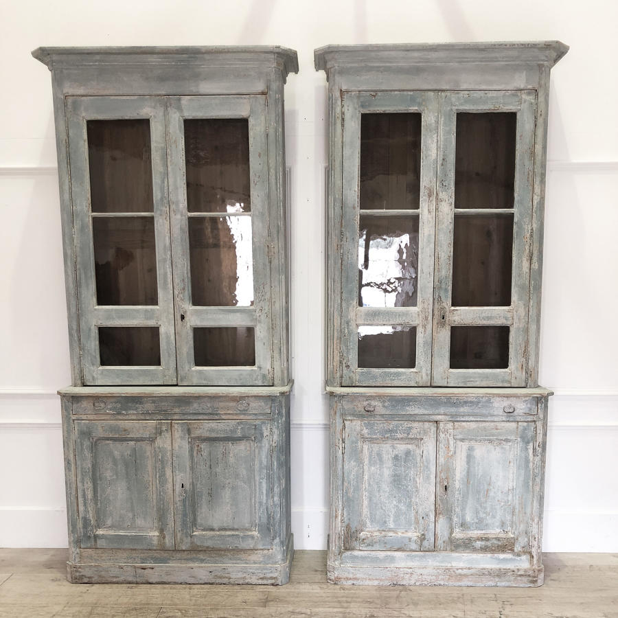 Pair of French early 19th c Cabinets Circa 1820