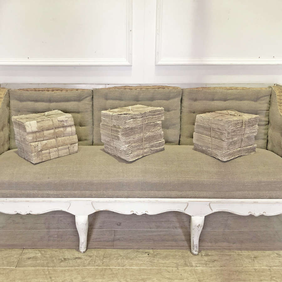 Swedish 3-seater Sofa or Day-bed Circa 1890