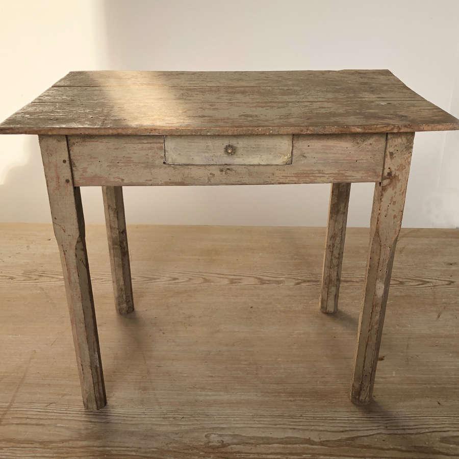Miniature English pine kitchen Table - circa 1940