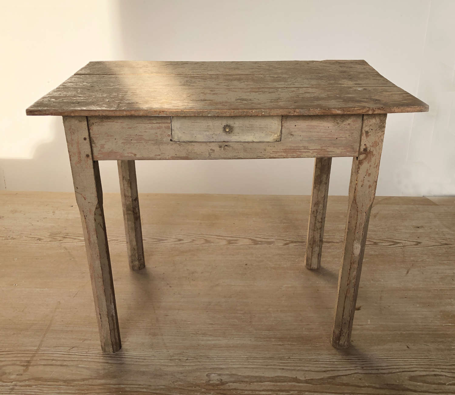 Miniature English pine kitchen Table - circa 1940