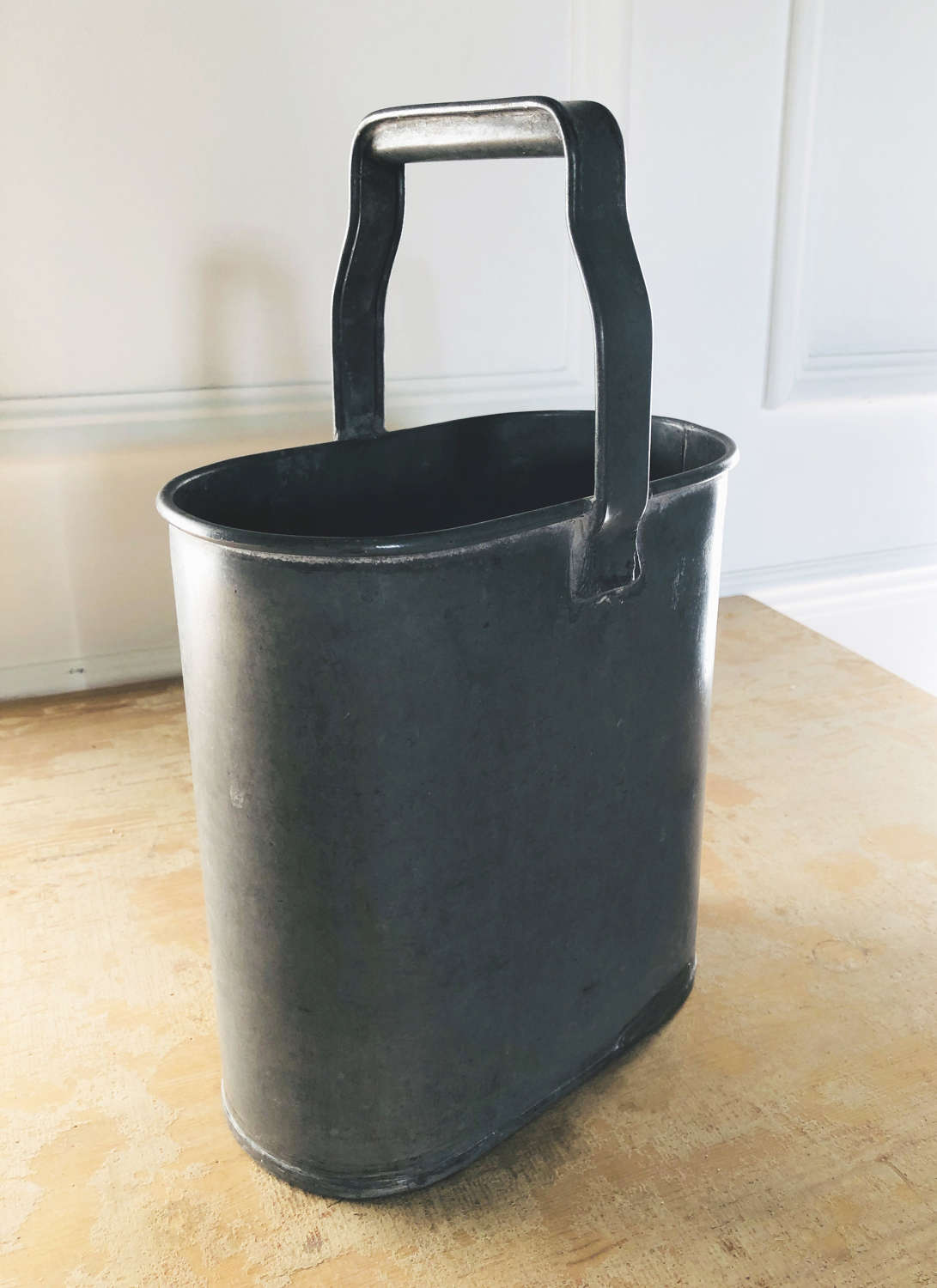 19th c French Zinc Bottle Carrier - circa 1890