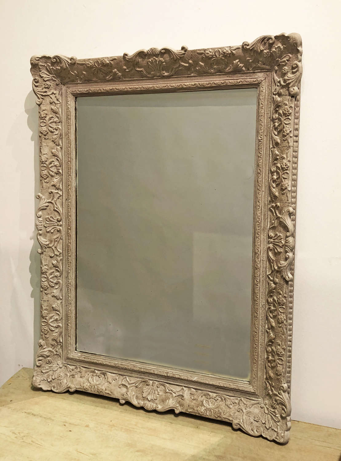 19th century French carved Mirror - Circa 1890