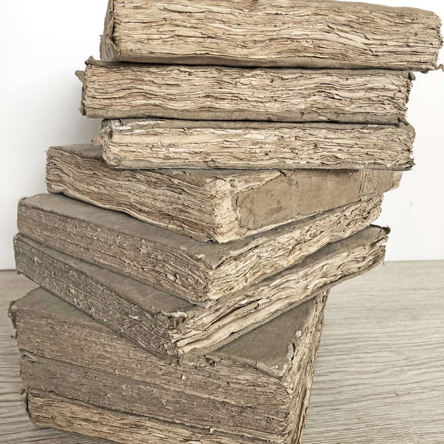 Set of 18th century French Grey Books