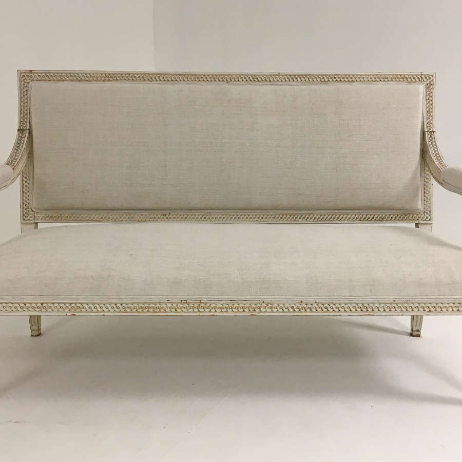 Superb 19th c Gustavian Style Sofa - circa 1840