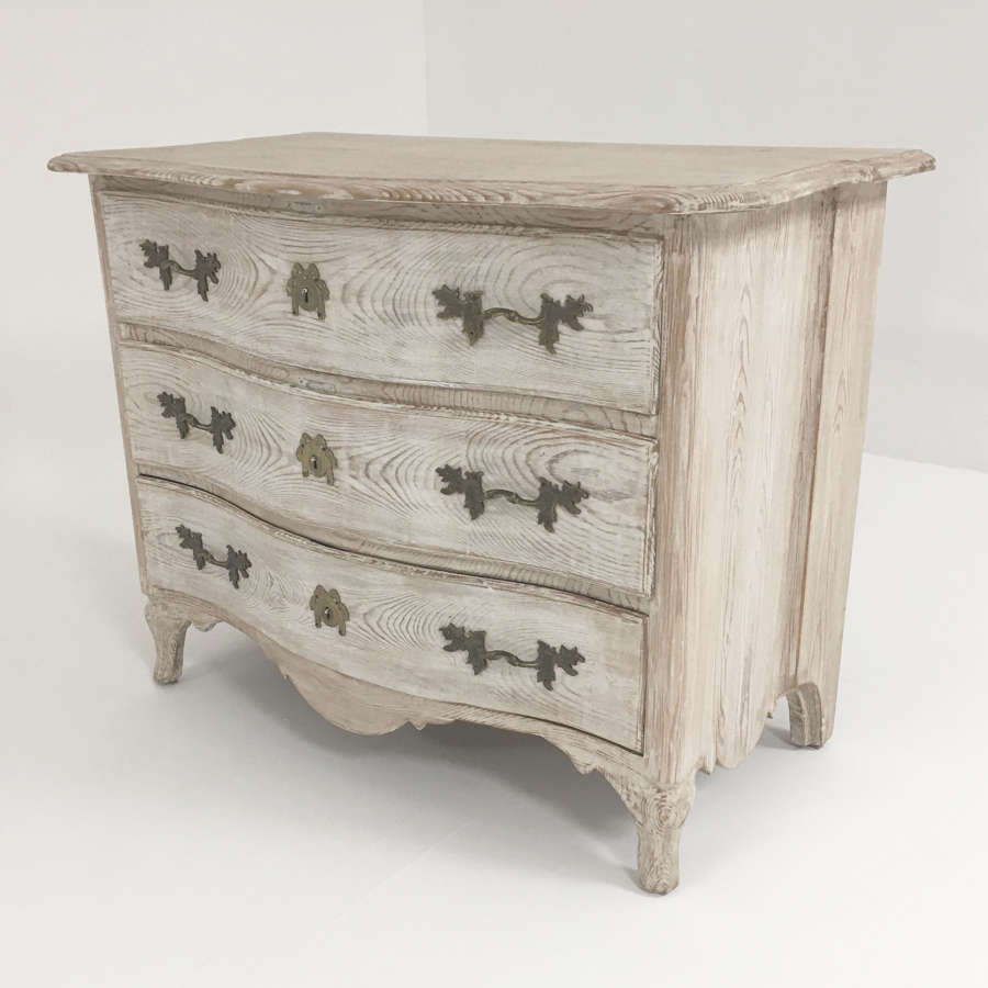 18th c Swedish Pine Commode - circa 1790