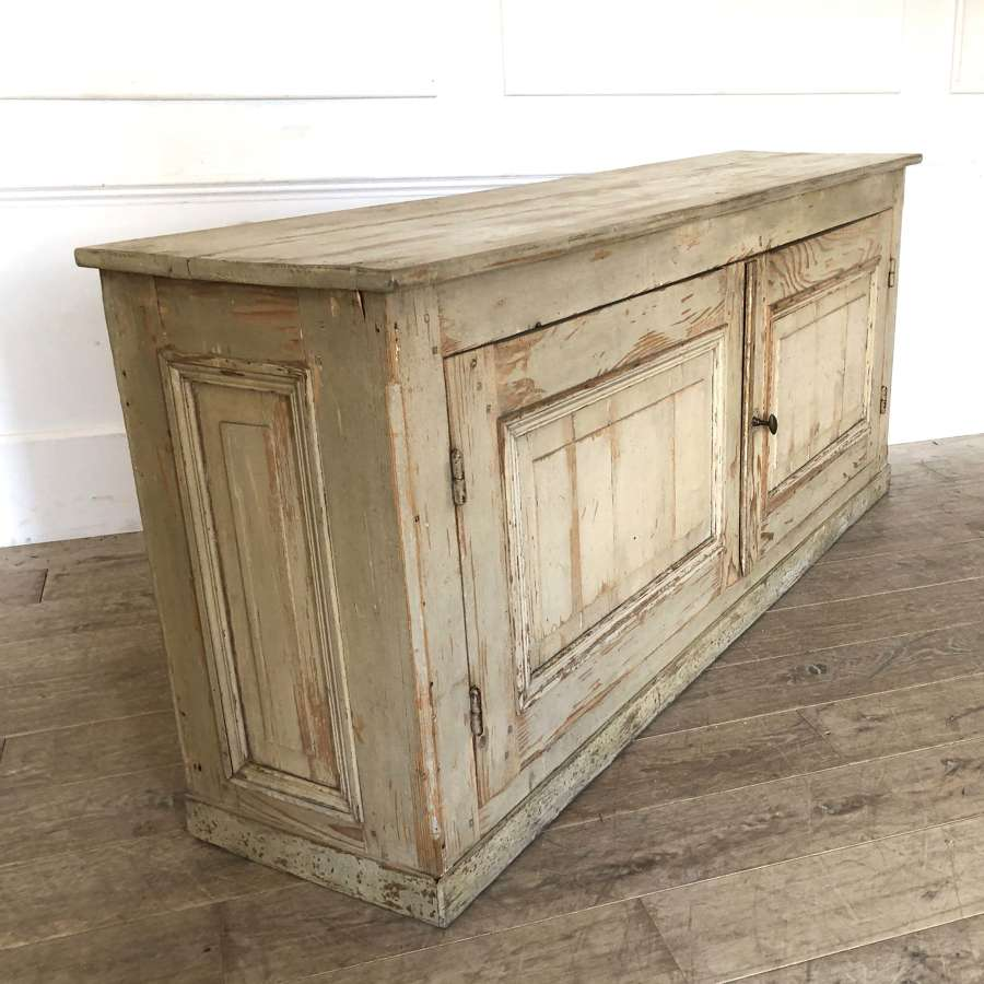 French 19th c Enfilade with original paint - circa 1870