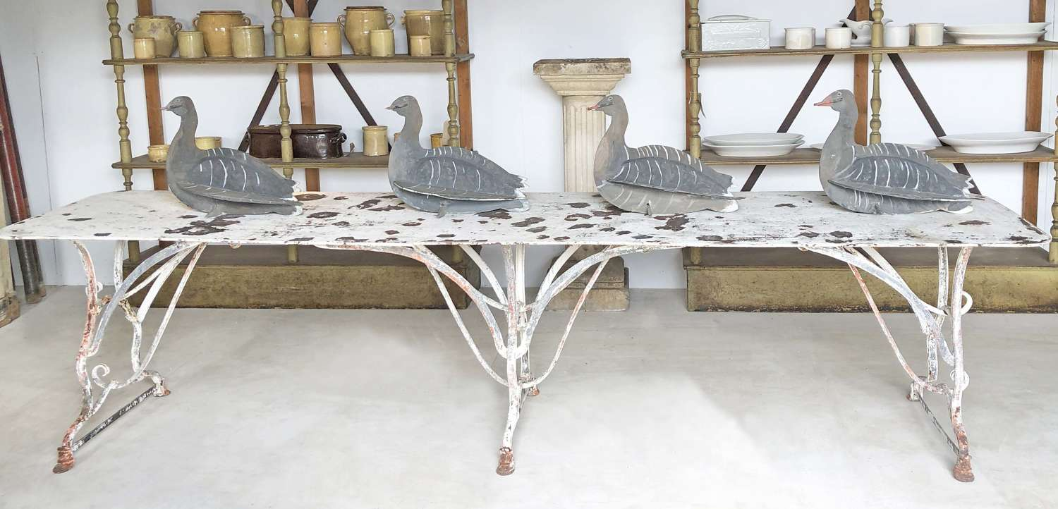 Long 19th century Iron Table from Arras - Circa 1890