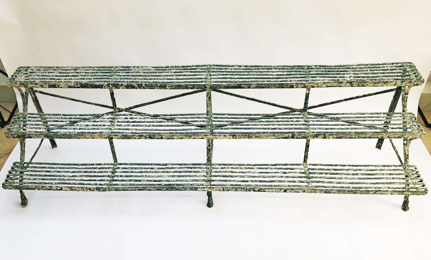 French 19th c Iron Plant Stand from Arras Circa 1890