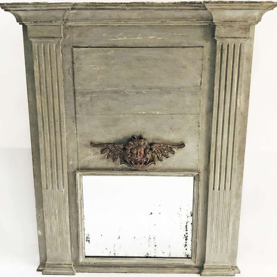 Large French 18th century Trumeau Mirror - circa 1750