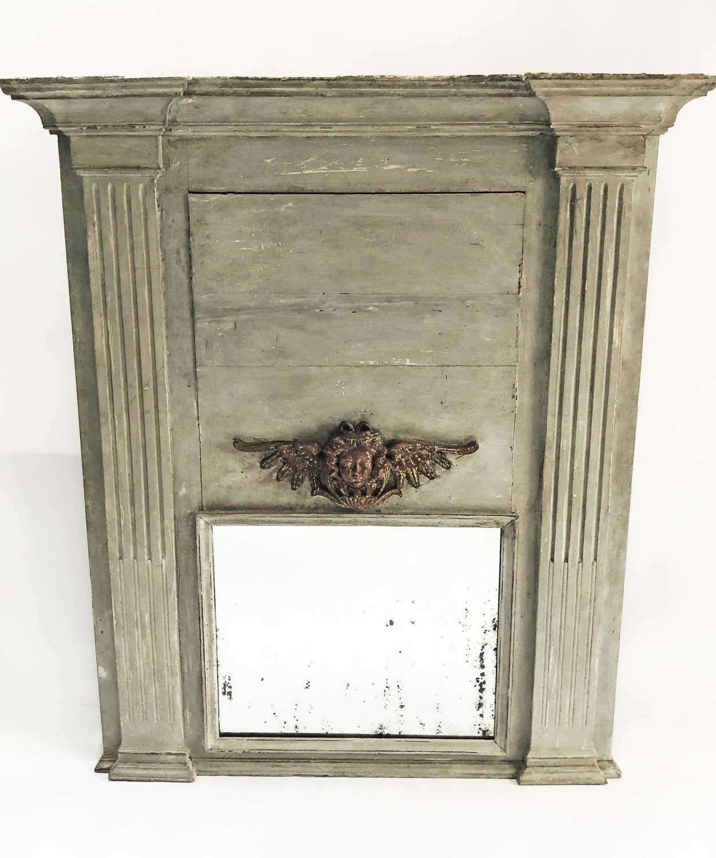 Large French 18th century Trumeau Mirror - circa 1750