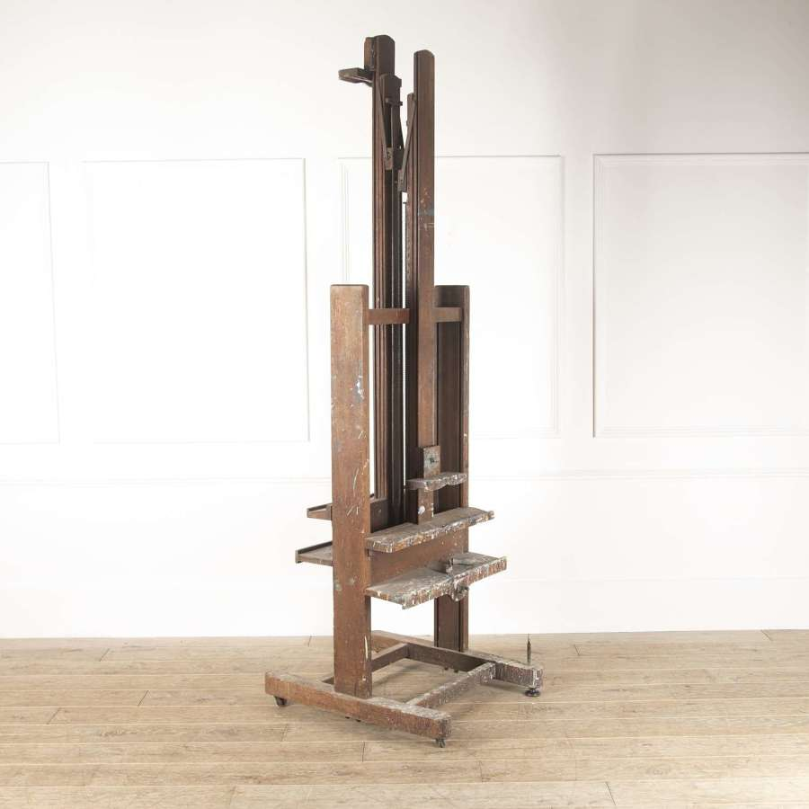 A rare 19th c French Double Easel - circa 1880