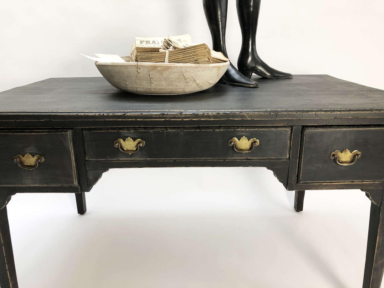 19th c Black Swedish Desk - Circa 1860