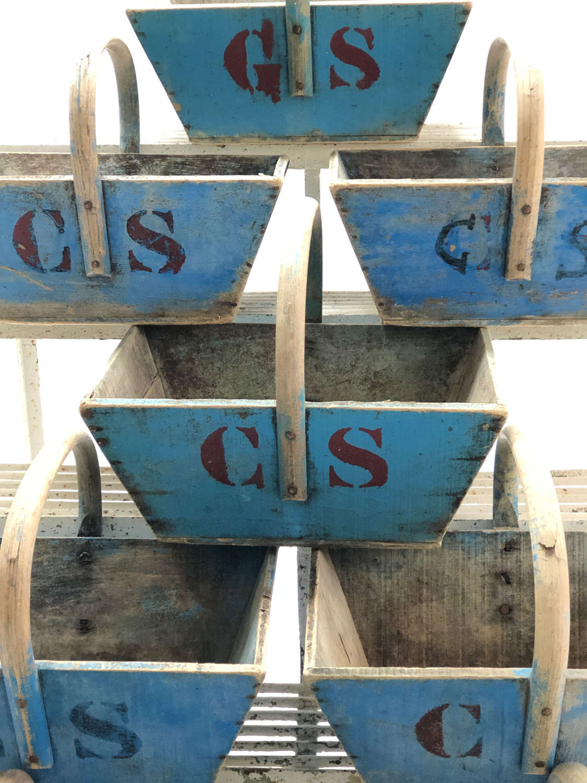 Vineyard Baskets from the Champagne region - circa 1900