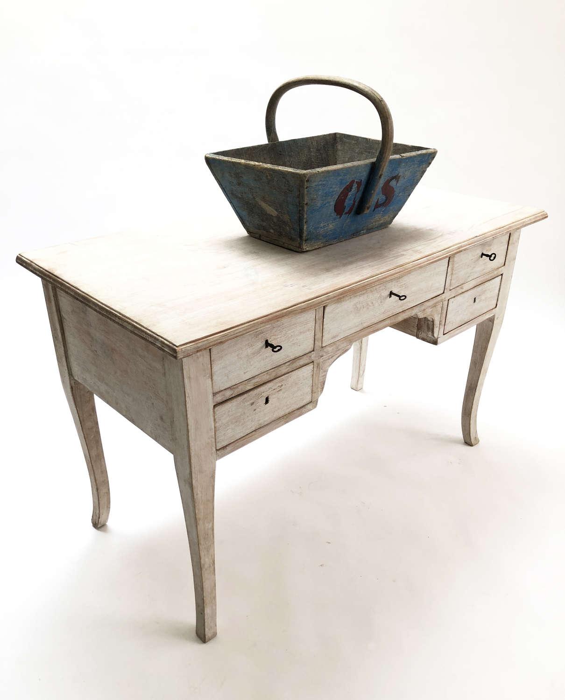 A Classic Swedish 20th c Pine Desk - circa 1950