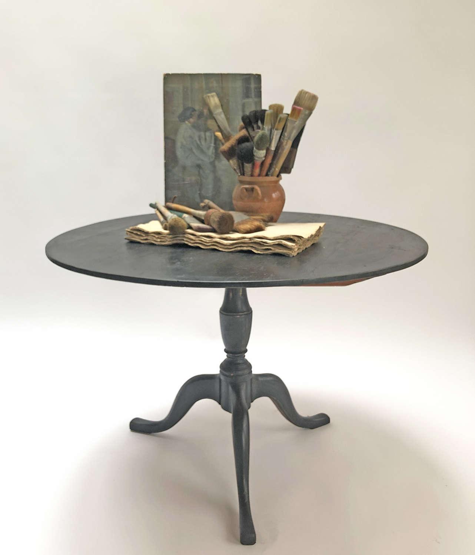 Early 19th c Swedish Round folding Table circa 1820